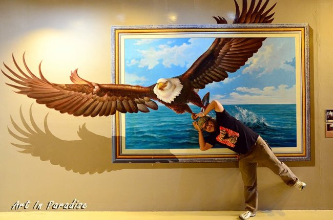 Art in Paradise Pattaya พิพิธภัณฑ์ภาพจิตรกรรม 3 มิติ สนุกสนานไปกับภาพวาดลวงตาทะลุมิติ ที่พัทยา 8 - 100 Share+