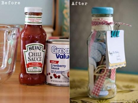 The ways to reuse กระปุกแก้วเหลือใช้ทำอะไรดีน๊าา 27 - bottle