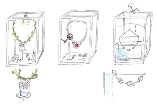 25550702 201218 The Green  Necklace..เครื่องประดับที่มีเมล็ดพันธุ์แห่งความรักต่อโลก แทนอัญมณี