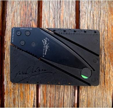 CARDSHARP..มีดพกสไตล์ เจมส์ บอนด์ พับเก็บเท่ากับแผ่นนามบัตร 16 - card knife