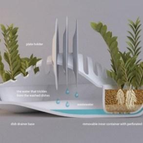 ที่พักจาน + กระถางต้นไม้.. eco-friendlyอีกแล้วงานนี้ 17 - dish rack
