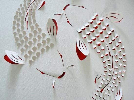 25550721 183940 งานศิลปจากการตัดกระดาษ  โดย Lisa Rodden