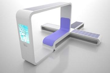 จุดให้บริการข้อมูล..ที่อุปกรณ์ทุกชิ้นได้พลังงานจาก แสงอาทิตย์