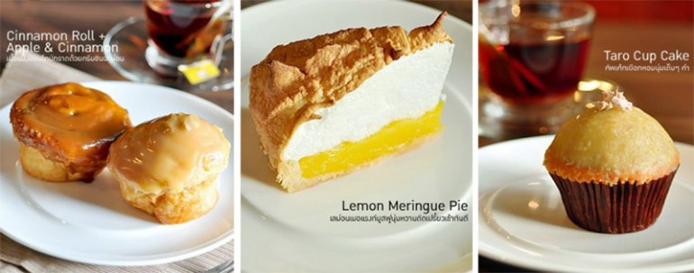 Cheesecake House & Restaurant นั่งดื่มกาแฟของที่นี่ในราคาสบายๆย่าน ซอยเอกมัย 12  16 - banana cup cake