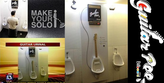 Make Your Own MPee 3 With a Guitar Urinal...โถปัสสาวะกีต้าร์ 14 - Guitar