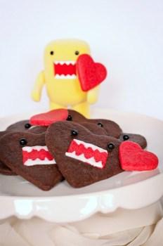 6839559737 116dc62492 b 232x350 คุกกี้โดโมะ น่ารักๆ chocolate domo kun heart cookies