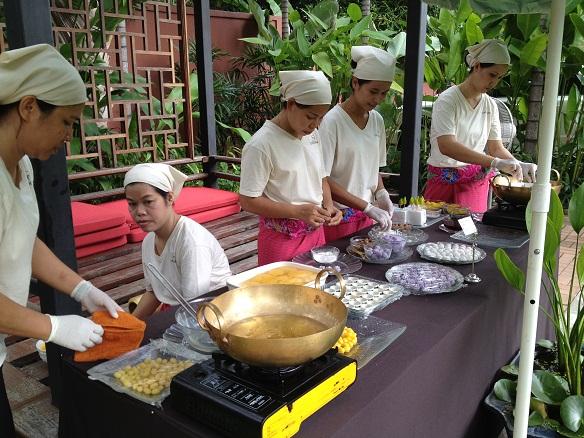 IMG 2584  เมื่อของว่างไทย..เป็นเมนูในบริการจัดเลี้ยง โดย S&P Caterman งานนี้ไม่ใช่แค่เสริฟอาหาร..แต่สานต่อมรดกทางวัฒนธรรม