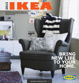 IKEA's 2013 augmented reality catalogue,new world new ideas 14 - IKEA (อิเกีย)