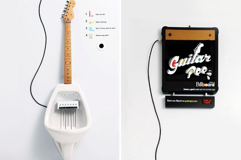 Make Your Own MPee 3 With a Guitar Urinal...โถปัสสาวะกีต้าร์ 14 - Guitar