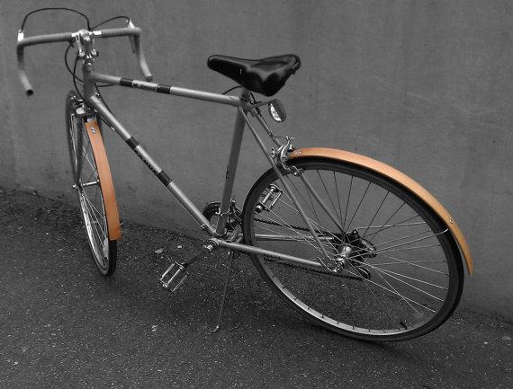 Wooden Bike Accessories หลากหลายของตกแต่งจักรยานที่ทำจากไม้ 13 - fender