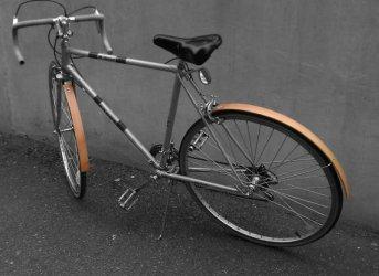 Wooden Bike Accessories หลากหลายของตกแต่งจักรยานที่ทำจากไม้ 20 - fender