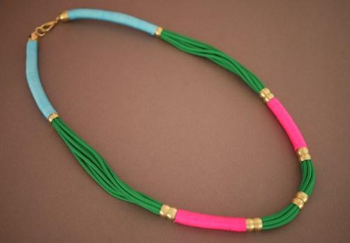 ropenecklace10 504x350 DIY.Rope Necklace ของขวัญให้คุณแม่