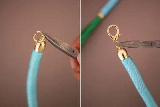 ropenecklace9 525x350 DIY.Rope Necklace ของขวัญให้คุณแม่