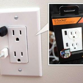 U-SOCKET USB OUTLETS ชาร์จแบบไม่ง้อ adapter 18 - blackberry