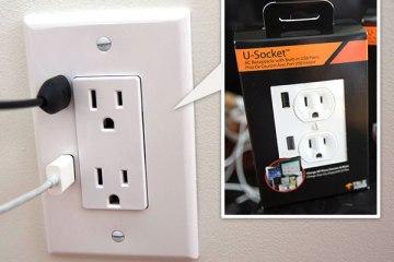 U-SOCKET USB OUTLETS ชาร์จแบบไม่ง้อ adapter 7 - blackberry