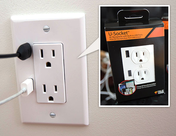 U-SOCKET USB OUTLETS ชาร์จแบบไม่ง้อ adapter 16 - tablet