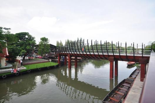 ตลาดนัดขวัญเรียม Kwan-Riam Floating Market 15 - Floating market
