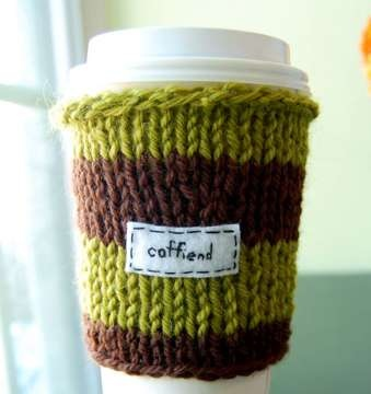 25550803 135510 เสื้อไหมพรมสำหรับแก้วกาแฟ