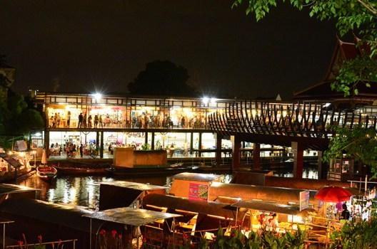 ตลาดนัดขวัญเรียม Kwan-Riam Floating Market 16 - Floating market