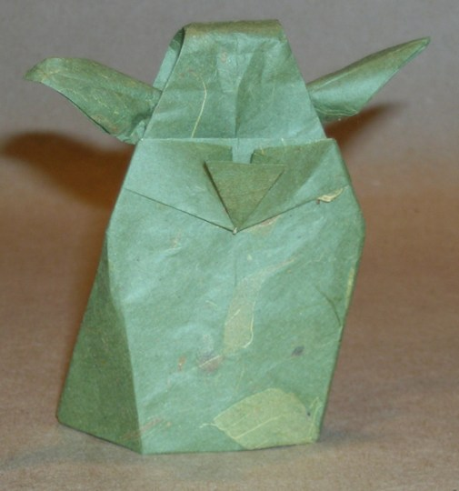 YodaBack มาพับกระดาษ Origami เป็น Yoda กัน