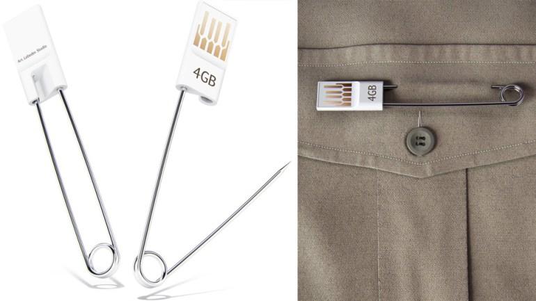เข็มกลัด USB 13 - Art Lebedev Studio