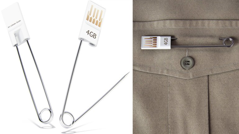 เข็มกลัด USB 16 - Art Lebedev Studio