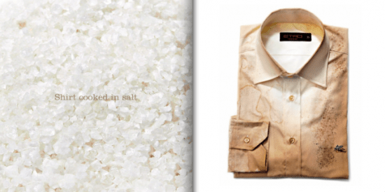 screenshot2010 10 13at8 35 18pm 550x274 DIY Part 3: Shirt Cooked in Salt เปลี่ยนเสื้อตัวเก่าสีขาว เป็นเสื้อตัวใหม่สีน้ำตาล ด้วย เกลือ
