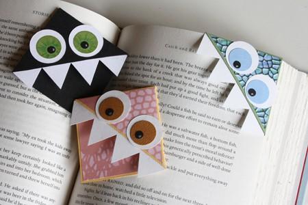 ที่คั่นหนังสือ Origami สัตว์ประหลาดน่ารักๆ แบบ DIY ทำเองได้เลย 14 - 100 Share+