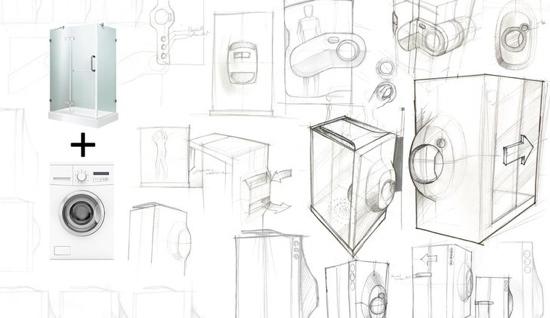 25550923 172101 ห้องอาบน้ำ ที่เป็่นเครื่องซักผ้าไปด้วย...ประหยัดทรัพยากรน้ำเพื่อโลกในอนาคต