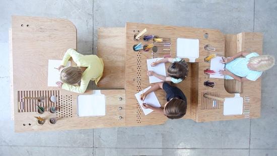 25550929 062017 Growth Table..โต๊ะทำงานตัวเดียวสำหรับทุกคนในครอบครัว