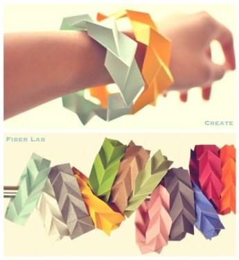 DIY.paper bangle 15 - bangle