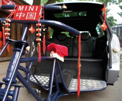 MINI Clubman Rickshaw 4 420x350 Marketing Mini by Access Agency รถมินิในรูปใหม่ มินิสามล้อ