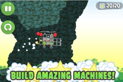 Screen Shot 2012 09 27 at 7.29.28 PM 425x285 Bad piggies ถึงเวลาที่เจ้าหมูเขียว Angry birds มีเกมเป็นของตัวเองแล้ว