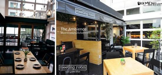 a7 550x255 ประชุมไป อร่อยไปเพลินๆ  ที่ Meeting Room   is an Asian Gastro Bar ย่านทองหล่อ