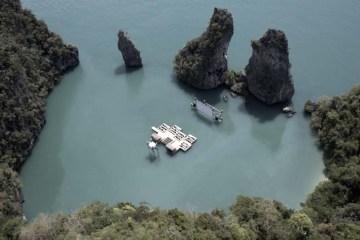 Floating cinema โรงหนังลอยน้ำที่เกาะยาวน้อย 10 - cinema