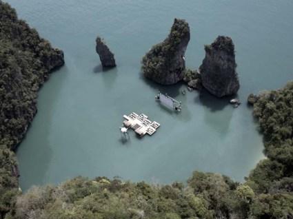 Floating cinema โรงหนังลอยน้ำที่เกาะยาวน้อย 3 - cinema