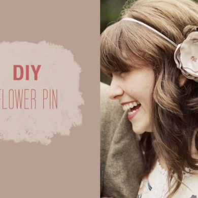 DIY: FLOWER PIN 23 - DIY