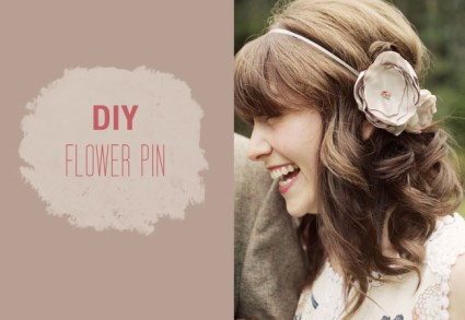 DIY: FLOWER PIN 14 - DIY