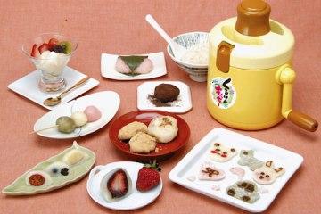 Kururin Mocchi Rice Cake Maker ขนมโมจิทำเองได้ง่ายนิดเดียว 2 - Kururin Mocchi Rice Cake Maker
