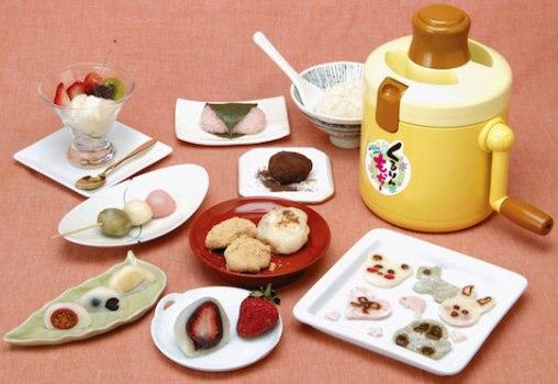 kururin mocchi 508x350 Kururin Mocchi Rice Cake Maker ขนมโมจิทำเองได้ง่ายนิดเดียว