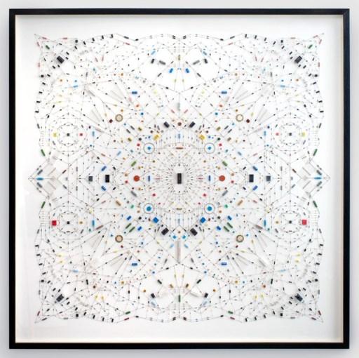 mandala 1 ศิลปะจากไอซีวงจรคอมพิวเตอร์