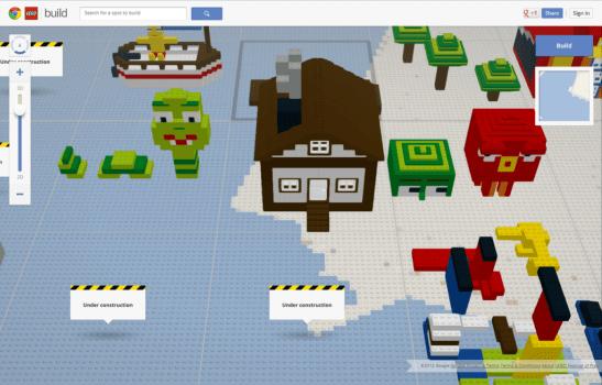 "Build with Chrome มาเนรมิตสิ่งก่อสร้างต่างๆด้วยตัวเองในรูปแบบของ""ตัวต่อเลโก้""กันเถอะ  3 - Build with Chrome"