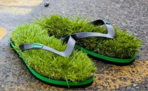 25551009 124017 เดินบนหญ้าไปทุกที่..ด้วยรองเท้าแตะหญ้าสุดแนว..