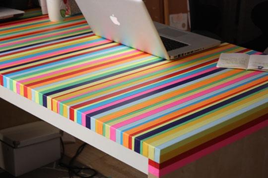 3ไอเดีย DIY ทำโต๊ะใหม่จากของเก่า 27 - GREENERY