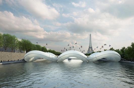 25551019 232644 บิน และโดดข้ามแม่น้ำด้วยTrampoline bridge ในปารีส