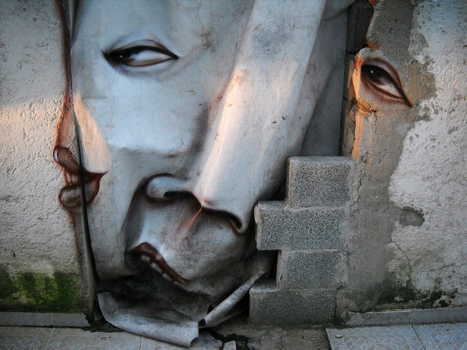 25551020 230446 The Distorted Street Faces of Andre Muniz Gonzaga