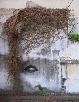 The Distorted Street Faces of Andre Muniz Gonzaga 16 - street art