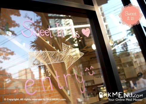 Sweet it is ร้านขนมสไตล์เฮมเมดที่โครงการ Rain Hills สุขุมวิท 47 16 - Sweet it is
