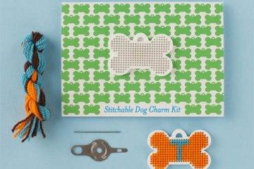 Dog Charm Kit  6 - Cross-stitch
