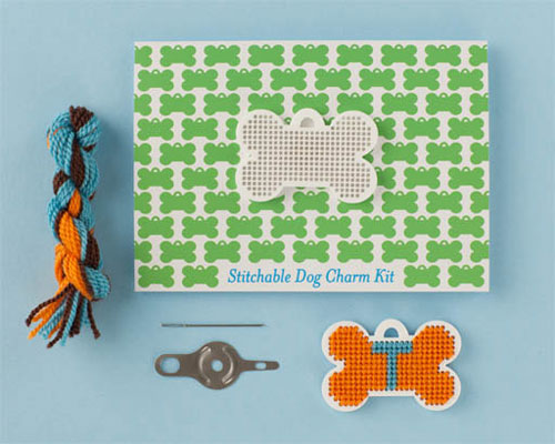 Dog Charm Kit  15 - Cross-stitch